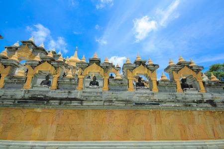 Phakung temple, Roi-ed, Thailand