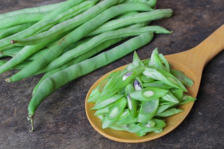 snap bean: Green bean Stock Photo
