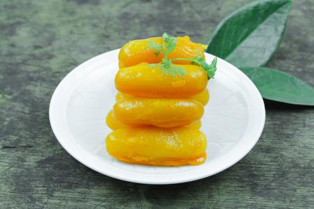 met: Sweet jackfruit seeds, Thai dessert (Met Khanoon)