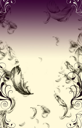 Fancy Feather Background