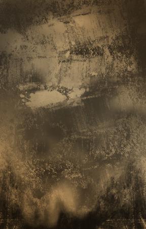 Dark Grunge Brown Stock Photo
