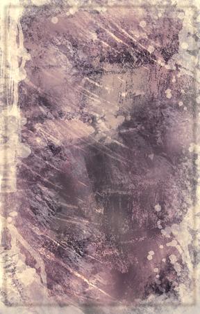 Pale Plum Splatter Background Stock Photo