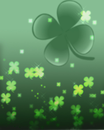 Saint Patricks Day Clover Background