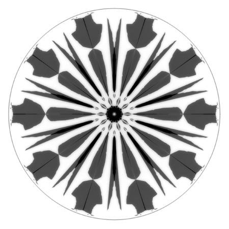 Mandala Design Black And White