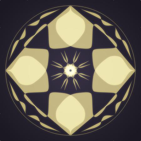 Light Mandala Simple Design