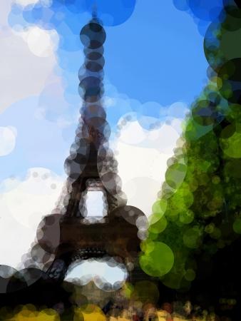 parisian: Eiffel Tower in Paris (France)