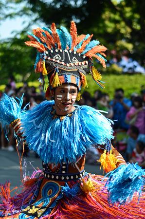 costum: Colorful dancer Editorial