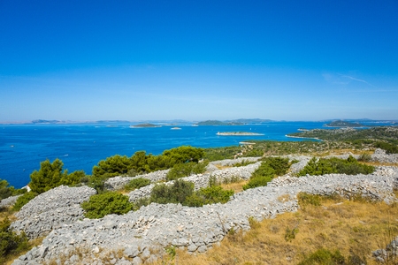 murter: Murter Croatia Stock Photo