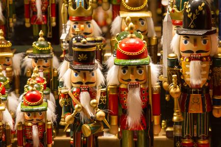 details of a market on the Christmas market in Salzburg, Austria