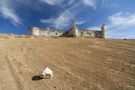 counts: Castle of Counts, Chinchon. Madrid Community, Spain. Editorial