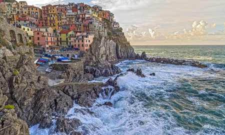 Manarola,Liguria,Italy.