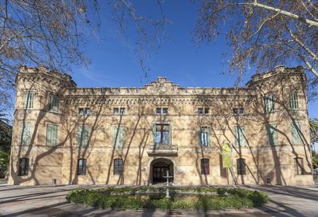 CORNELLA DE LLOBREGAT,SPAIN-JANUARY 21,2015: Palace of Can Mercader, Cornella de Llobregat, province Barcelona, Catalonia.