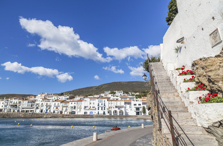 Cadaques,Catalonia,Spain. View of village.