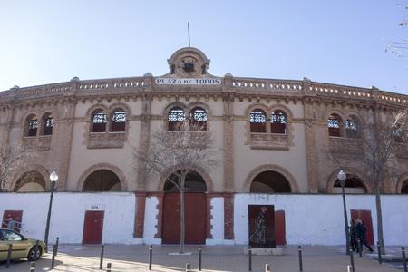 CASTELLON,SPAIN-JANUARY 30,2018: Plaza de Toros, bullring. Castellon,Spain.