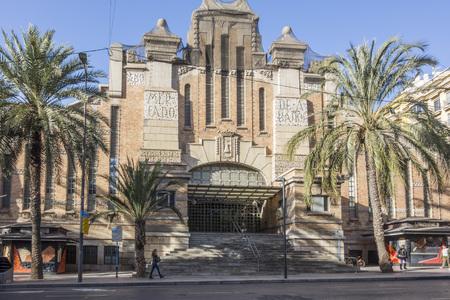 ALICANTE, SPAIN- JANUARY 18, 2018: Central market,mercat central, Alicante, Spain. Editorial