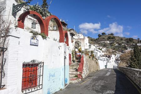 Sacromonte, traditional neighborhood.Granada, Spain.