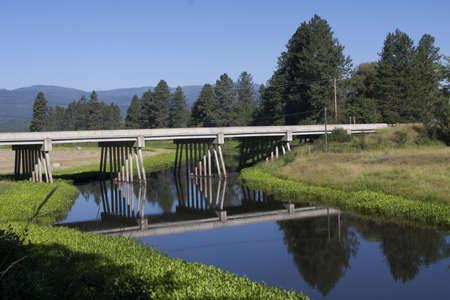 Bridge with Reflections Stock Photo - 21543429