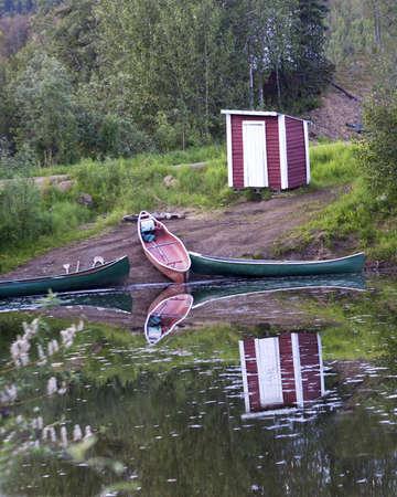 Boat Reflections Stock Photo - 22010815