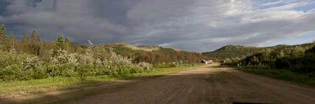 Remote Village Panorama