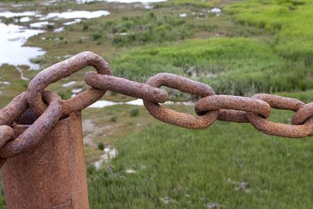 rusty chain: Rusty Chain Links