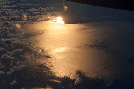 Sun Lights Up Water Below
