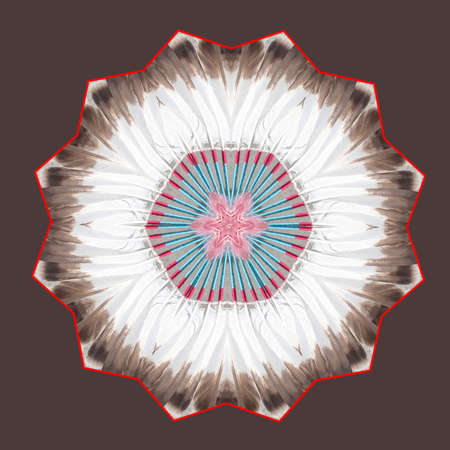Indian Kaleidoscope Stock Photo