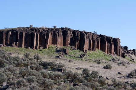 Rock Columns Stock Photo