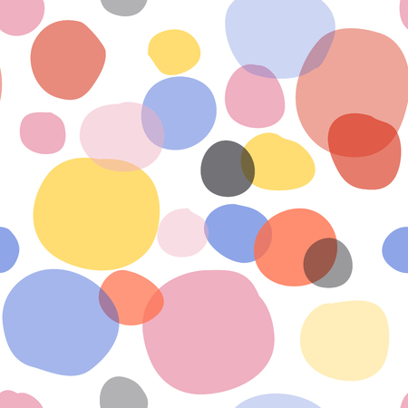 trendy colors circles