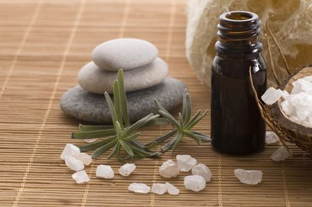aromatherapy items. spa photo