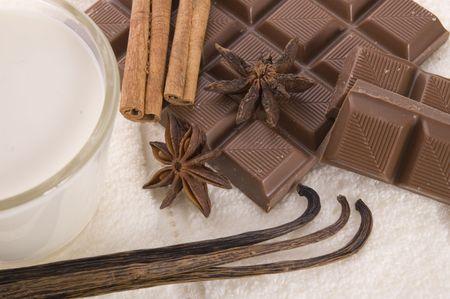 sensuality spa chocolate aromatherapy items photo