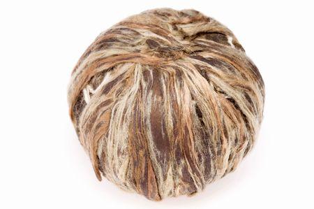 ball of white tea Stock Photo - 5231313