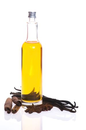 bath oil with spices photo