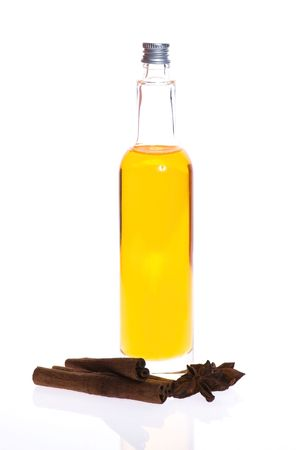 bath oil with spices photo