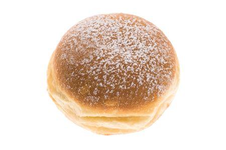 doughnut on white background photo