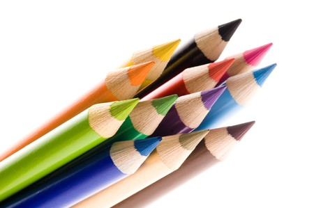 sharpened: Sharpened pencils