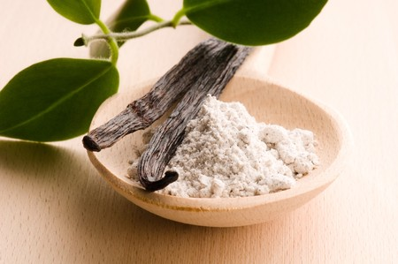 vanilla beans with aromatic sugar Stock Photo - 7815934