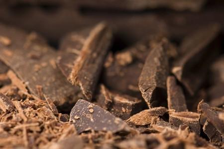 pile of broken chocolate photo