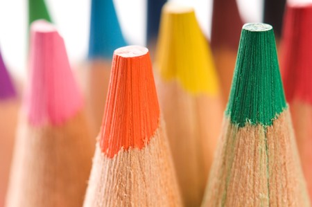color pencils Stock Photo - 8178032