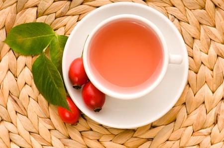 rose hip tea photo
