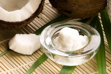 aromatherapy oils: Coconut and coconut oil