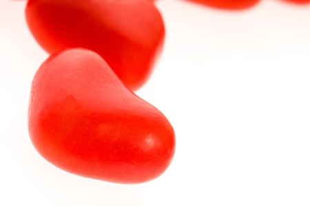 Sweets in the form of hearts  photo
