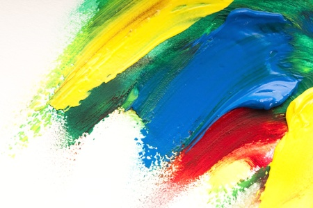 Mischen von Farben. Hintergrund Standard-Bild - 10379025