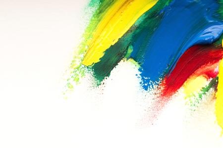 Mischen von Farben. Hintergrund Standard-Bild - 10463731