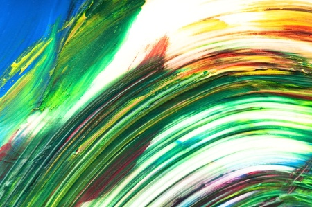 paints on the white paper Stock Photo - 10535768