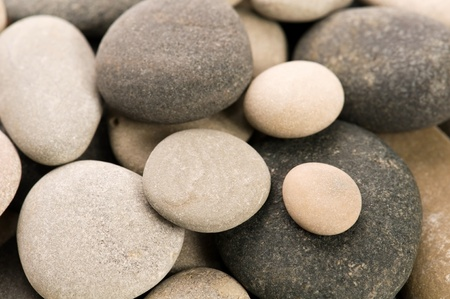 smooth stones: stone. background