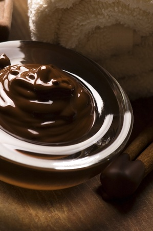 chocolate mask: Chocolate spa with cinnamon