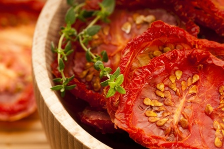 Italian sun dried tomatoes photo