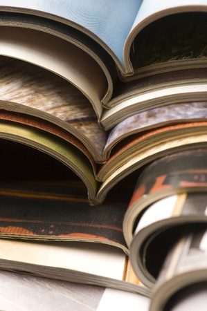 stack of magazines Stock Photo - 13538618
