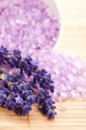 Lavender Spa  Stock Photo - 13911087