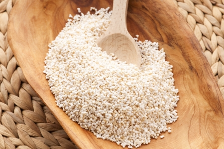 Amaranth popping, gluten-free, high protein grain cereal Stock Photo - 13911093